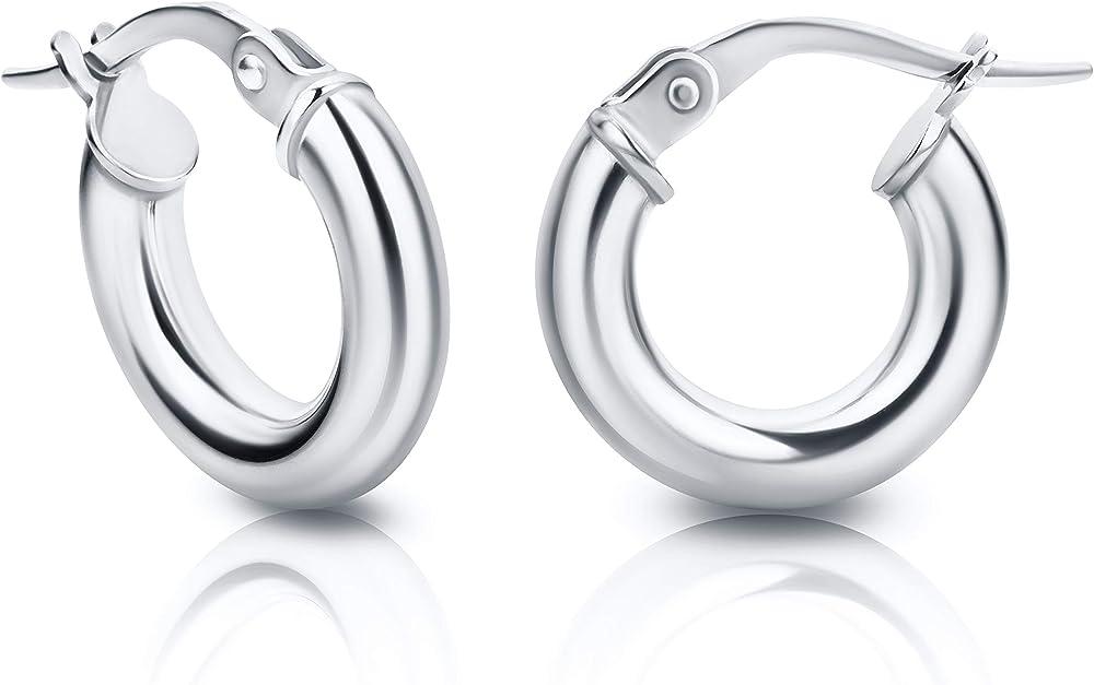 Orovi orecchini per donna a cerchi in oro 9 kt 375 gr 0.98 OR72145E