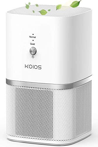 lowest KOIOS Air Purifier, Small outlet sale Air Purifiers with True HEPA Filter, Air Cleaner Bedroom Home high quality Kitchen Office, Remove Smoke Dust Pollen Pet Dander, Protable Odor Eliminator, 219ft², No Ozone outlet sale