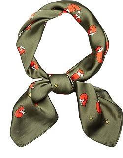 green fox scarf