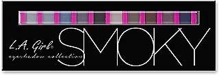 L.A. Girl Beauty Brick Eyeshadow, Smoky, 0.42 Ounce
