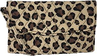 Vera Bradley Strap Wallet Crossbody, Leopard