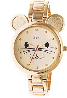 Mignonne Mouse Face Dial Quartz Watch