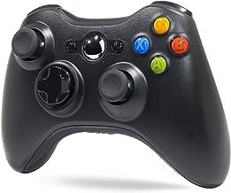 Wireless Controller for Xbox 360, Tiiroy 2.4GHZ Wireless Controller Joystick Gamepad Remote for Xbox360 PC Windows 7,8,10 (Black)