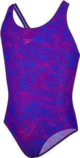 Girls' Boom Allover Splashback Swimsuit