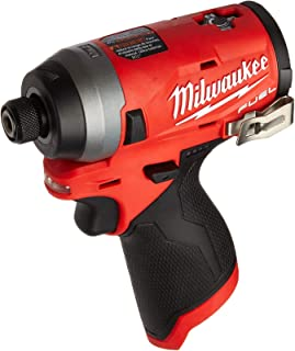"""Milwaukee Electric Tools MLW2553-20 M12 Fuel 1/4"""" Hex Impact Driver (Bare) (Renewed)"""