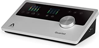 Apogee Audio Interface, Black, Silver (QUARTET-IOS-MAC)