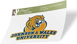 Johnson & Wales University JWU Wildcats NCAA Vinyl Decal Laptop Water Bottle Car Scrapbook (Sticker - 00074A)