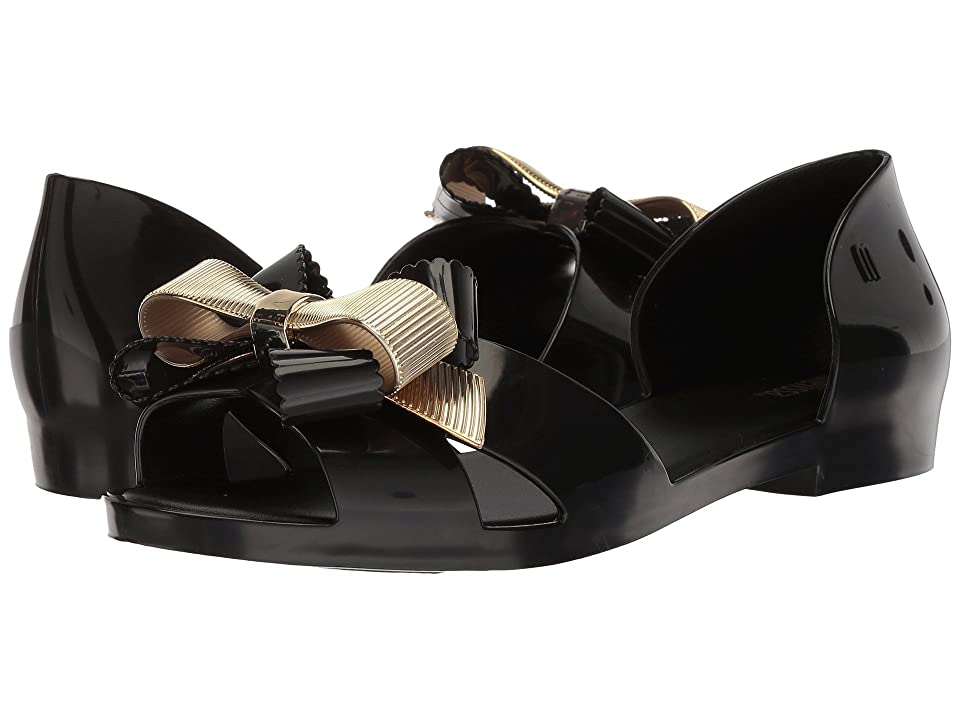 Melissa Shoes Seduction III (Black Gold) Women