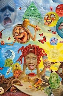 "Trends International Trippie Redd-Art Wall Poster, 22.375"" x 34"", Multi"