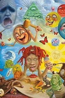Trends International Trippie Redd-Art Wall Poster, 22.375