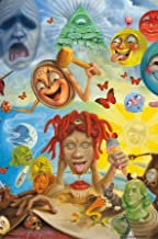 "Trends International Trippie Redd-Art Wall Poster, 22.375"" x 34"", Multi"