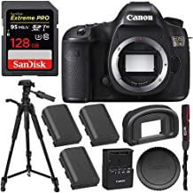 Canon EOS 5DS DSLR Camera (Body Only) with SanDisk Extreme PRO 128GB SDXC Memory Card (UHS-I/Class-10) - International Version (Seller Warranty)