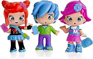 PINY Pinypon by Pack de 3 figuras, Michelle, Rita y Sam, surtido 1 (Famosa 700013378)