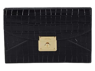 LAUREN Ralph Lauren Lock Pouch (Black) Handbags
