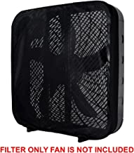 PollenTec Box Fan Air Filter - Effective Filtering Screen for Pollen, Dust, Mold Spores and Pet Dander - Reusable Washable Design - Compatible with Lasko Models B20200, 2301, 3733 Made in USA