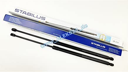 /06.05/T/ürschlosspflege/öl as a gift 2x Stabilus 1308PG////LIFT-O-MAT Gas Spring for Luggage Compartment Tailgate Damper for Zafira A F75 Build Year 04.99/
