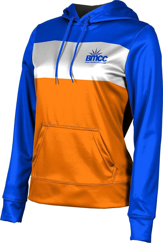 Borough of Manhattan Community College University Girls' Pullover Hoodie, School Spirit Sweatshirt (Prime)