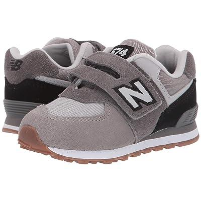 New Balance Kids IV574v1 (Infant/Toddler) (Castlerock/Black) Boys Shoes