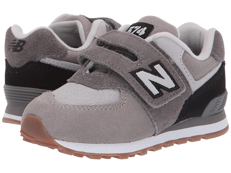 New Balance Kids IV574v1 (Infant/Toddler) (Castlerock/Black) Boys Shoes