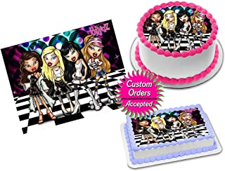 Bratz Edible Image Icing Frosting Sheet #4 Cake Cupcake Cookie Topper Sugar Sheet (8