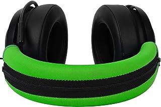 Kraken V2 & PRO Headband Cover, JARMOR Replacement Head Band Protector with Zipper [ Easy Installation ] for Razer Kraken ...
