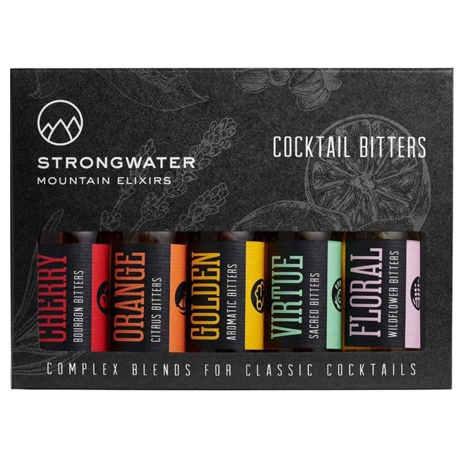 Strongwater All items free shipping Cocktail Bitters Sampler - Fashion Old 5 for Low price