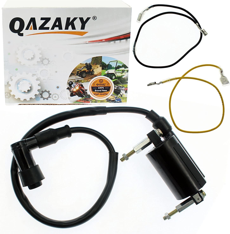 QAZAKY Ignition Coil Compatible Super-cheap Fort Worth Mall with 1985 ATV KLT160 Kawasaki