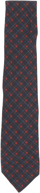 Altea Milano Men's Silk and Wool Plaid Necktie