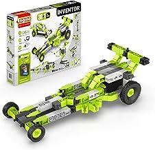 Engino Inventor - 30-IN-ONE |BUILD 30 Motorized Models | Assemble Drag Racer, Drawbridge, Truck , T-Rex, Helicopter, Eleva...