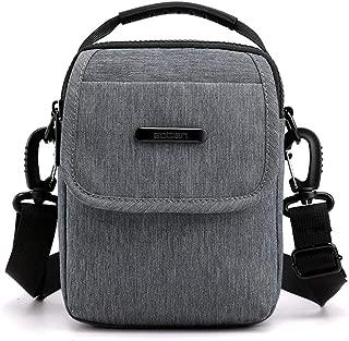 COAFIT Men's Shoulder Bag Top Handle Crossbody Bag Splash-Proof Mini Waist Bag
