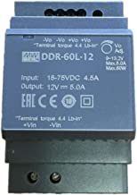 Meanwell DDR-60L-24 24V 2.5A 60W DIN Rail Type DC-DC Converter