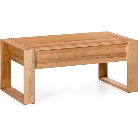 Marque Amazon -Alkove Hayes - Table basse avec espace de rangement caché, 110x60x46cm, C-ur de hêtre