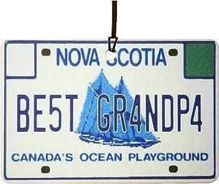Ali Air Freshener Nova Scotia   Best Grandpa Nummernschild Auto Lufterfrischer