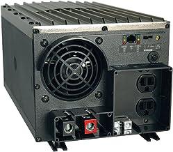 Tripp Lite Power Industrial Inverter, 2000W, 12VDC, 120V, RJ45, 5-15R 2-Outlets for RVs,Trucks, Fleet Vehicles & Emergency...