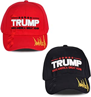 Make America Great Again Hat [2 Packs], Keep America Great Hat, Donald Trump 2020 USA MAGA Cap Adjustable Baseball Hat