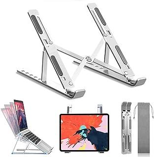 BREEZEE MARKET Laptop Stand Soporte Para Laptop Y Tablets 10-15.6 Pulgadas Macbook, Lenovo, Asus, Dell Y Más, Diseño Portá...