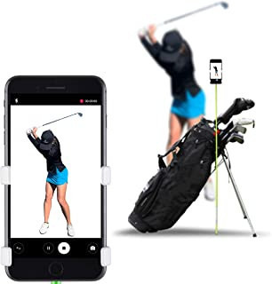 SelfieGolf Golf Swing Phone Holder - Selfie Putting Training Aids - Golf Analyzer Accessories | Winner of The PGA Best Pro...