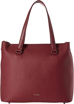 Plume Elegance Leather Weekend Bag