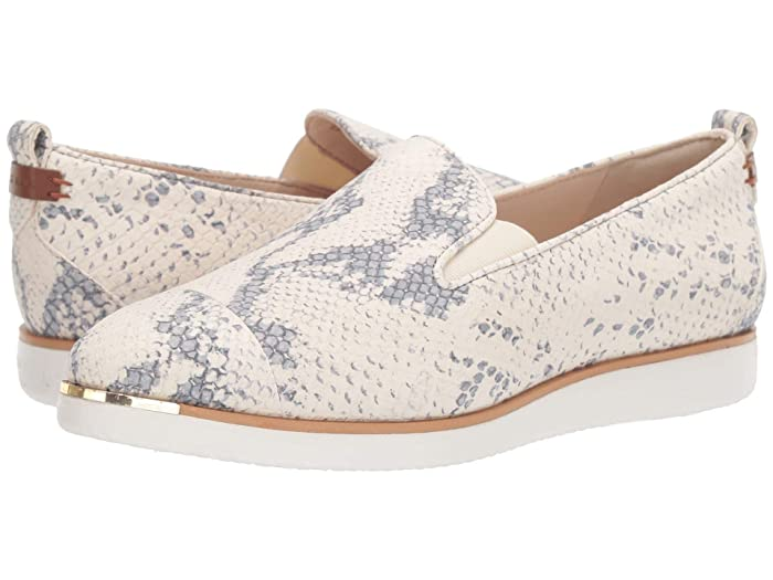 Cole Haan  Grand Ambition Slip-On Sneaker (Chalk Python Print/Natural/Ivory) Womens  Shoes