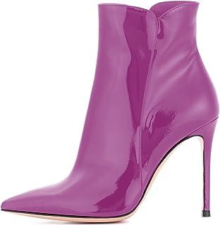EDEFS - Scarpe da Donna - Stivali con Tacco Alto Donna - Stivali Donna - Moda Caviglia Stivali Inverno