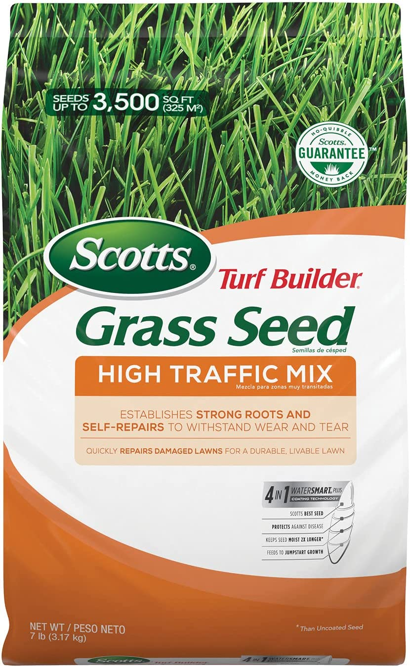 Scotts Max 45% OFF Max 71% OFF Turf Builder Grass Seed High Mix Traffic