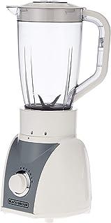 Black+Decker 500 Watts Blender With Grinder And Mincer Mill, White - Bx580-b5, 2 Year Warranty