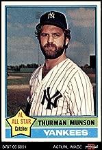1976 Topps # 650 Thurman Munson New York Yankees (Baseball Card) Dean's Cards 8 - NM/MT Yankees