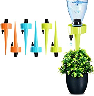 PASNOWFU Automatic Vacation Drip Plant Watering, Self Watering Spikes, Plant Watering, Plant Watering Devices with Slow Re...