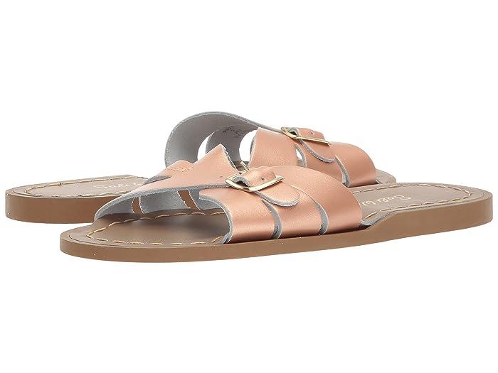 Salt Water Sandal by Hoy Shoes  Classic Slide (Little Kid) (Rose Gold) Girls Shoes