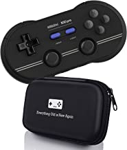 Geek Theory 8Bitdo N30 Pro 2 Controller Bundle (M Edition) - Includes Bonus Carrying Case - Updated 2019 Version - Android/Mac/PC/Switch/NES and SNES Classic