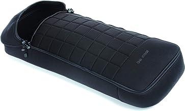 Be Cool Footmuff Saco de Invierno para Silla de Paseo con Hamaca Francesa, Interior Polar, Cremallera Frontal, Color Negro