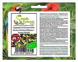 Stk - 5x Capezzoli di Scimmia Chili Garten Gemüse Pflanzen - Samen PW241 - Seeds Plants Shop Samenbank Pfullingen Patrik Ipsa