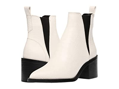 Steve Madden Audience Boot (Bone Croco) Women