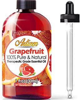 Artizen Grapefruit Essential Oil (100% Pure & Natural - UNDILUTED) Therapeutic Grade - Huge 1oz Bottle - Perfect for Aroma...
